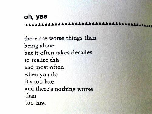 oh yes by charles bukowski