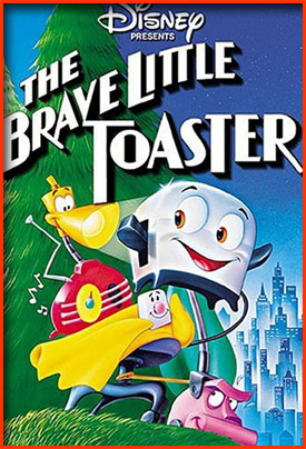 Geek Girl Gifts - The Brave Little Toaster DVD
