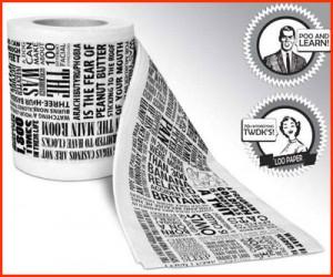 Geek Girl Gifts - Smart Toilet Paper