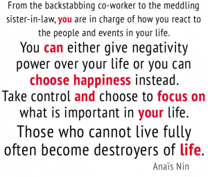 anais nin quote about happiness and life