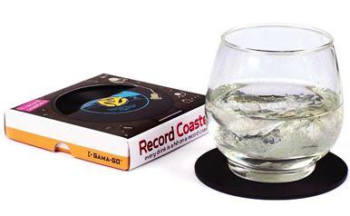 Vinyl Record Coaster Music Lover Gift