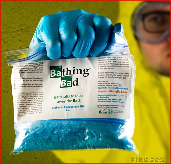 Breaking Bad Bath Salts Geek Gift