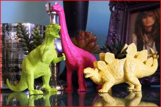 Dinosaur Planter Geek Gift