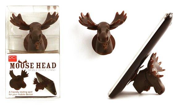 Moose Head Phone Mobile Geek Gift