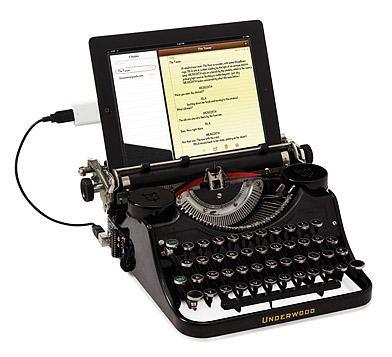 USB Typewriter Geek Gift