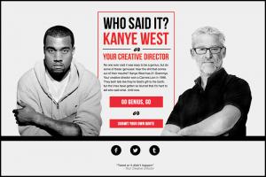Kanye Vs Creative Director