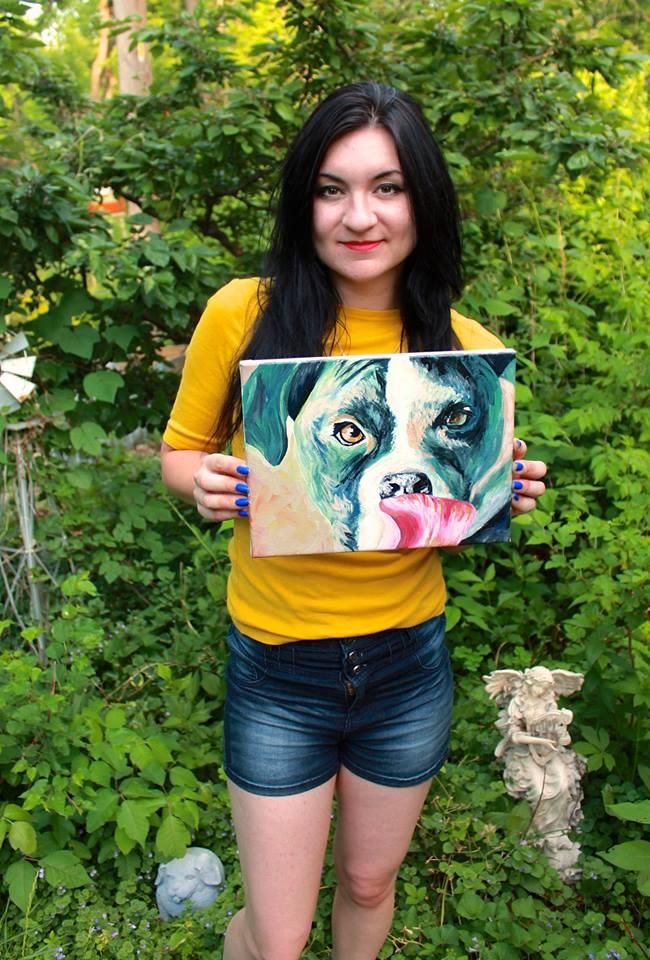 Custom Pet Portraits Painted