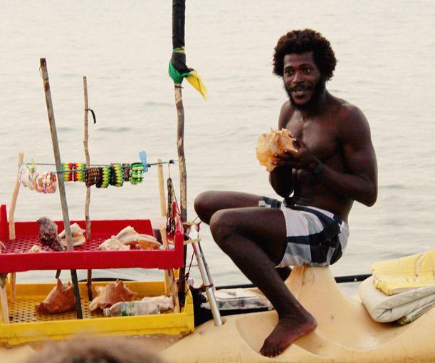 Jamaica, Aquatic Salesman
