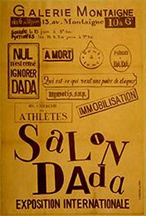 Dada Art Poster