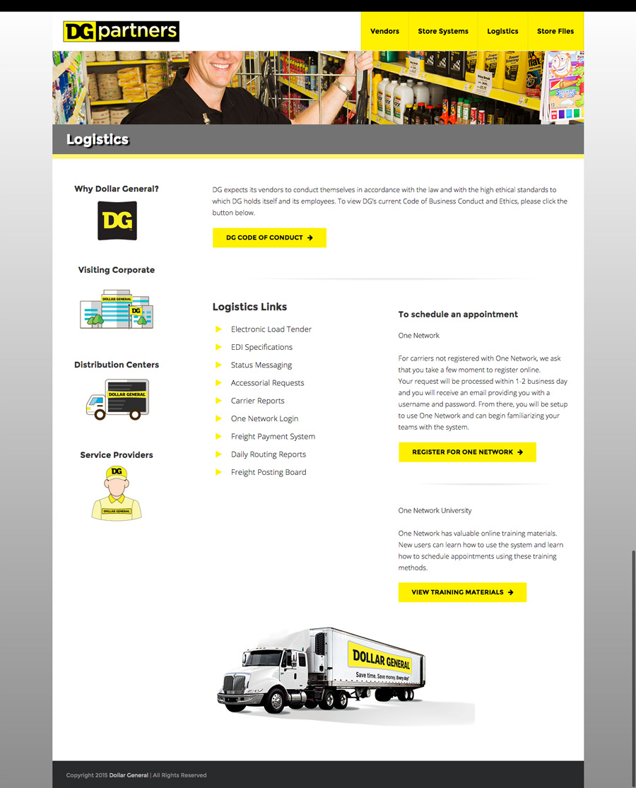 Microsite Website Design
