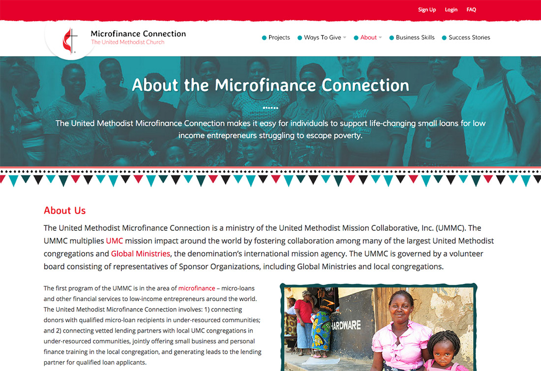 About the UMC Microfinance Connection
