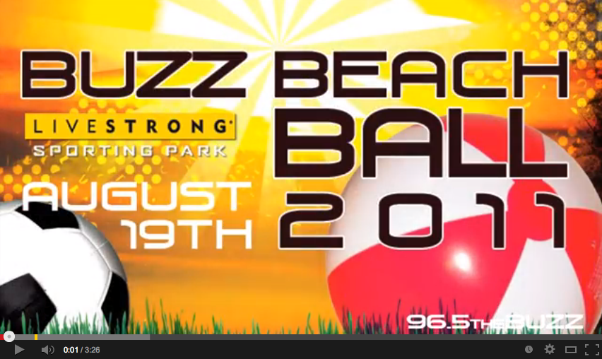 Buzz Beachball Video Recap for KRBZ 96.5 The Buzz