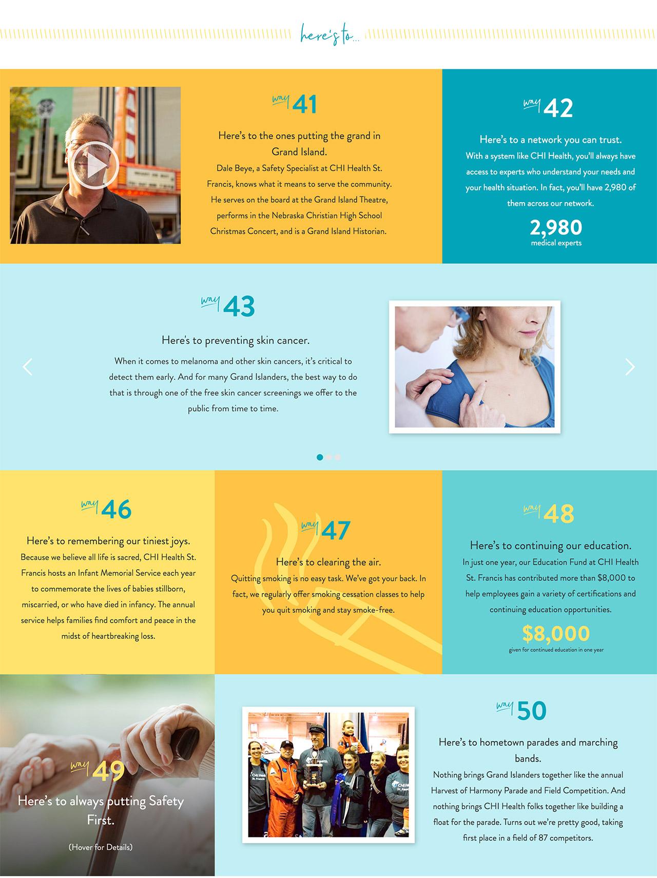 Landing Page Web Design Healthcare WordPress