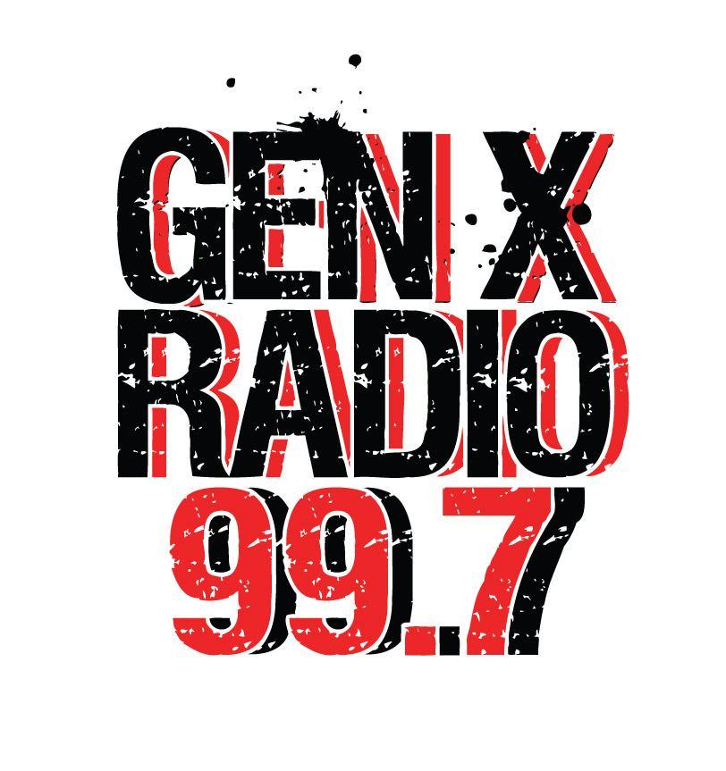 Gen X Radio 99.7 Logo Design