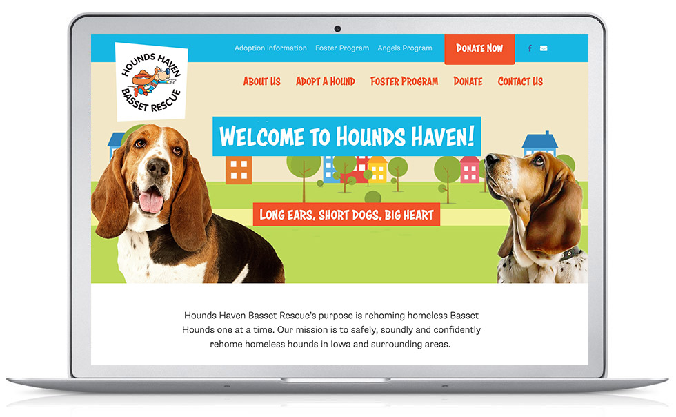 Animal Rescue Pro-bono WordPress Website