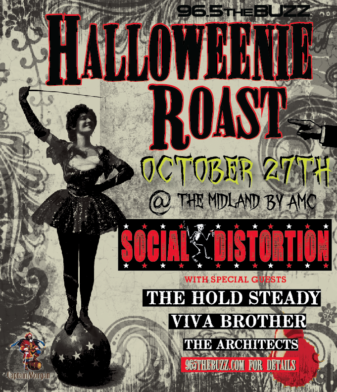 Halloweenie Roast Poster Design for KRBZ