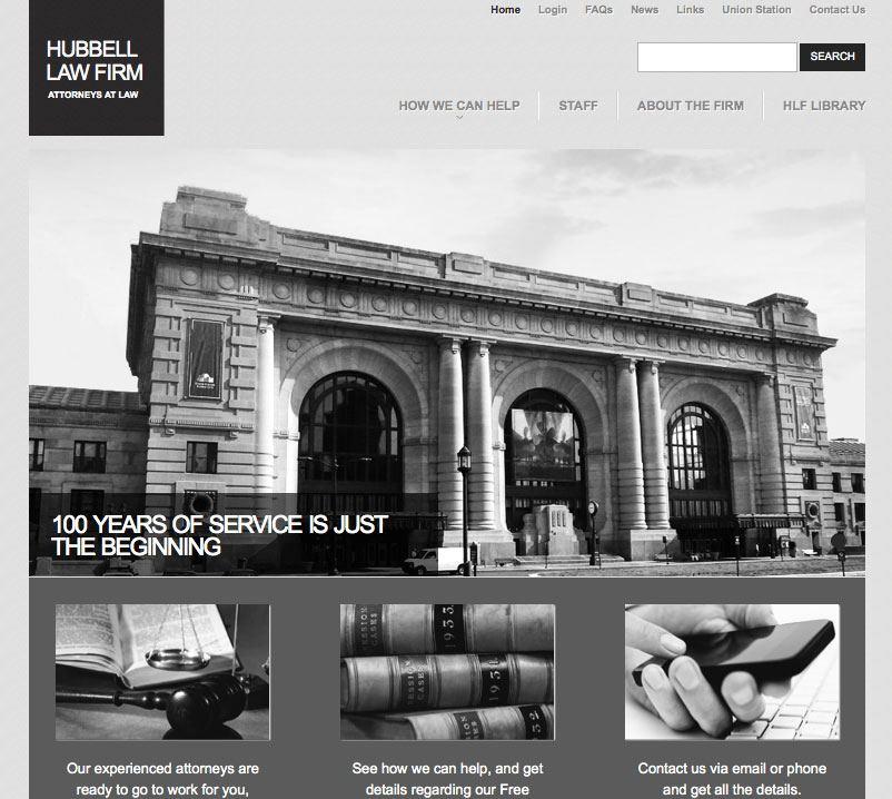 WordPress Website Design for Law Firm in Kansas City