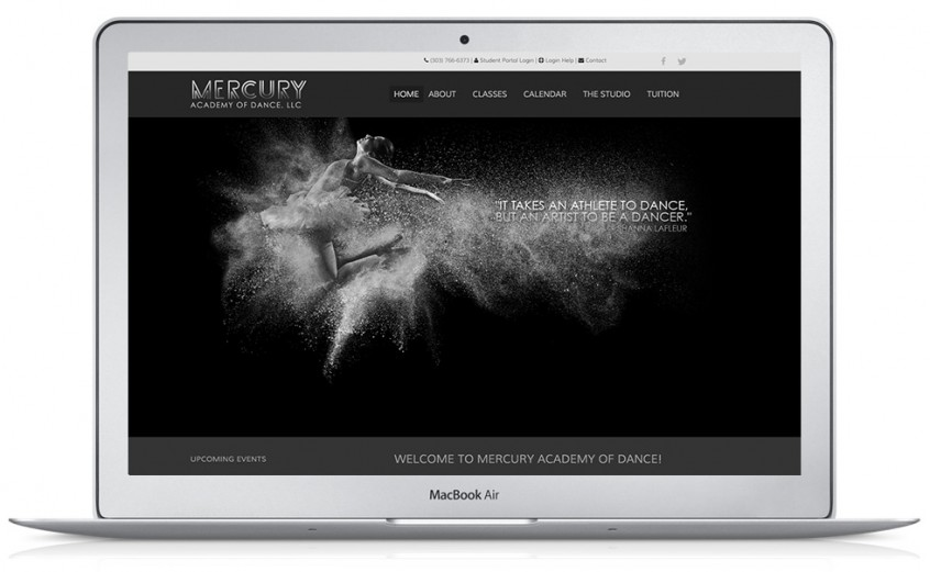 Dance Academy Website Design & Development