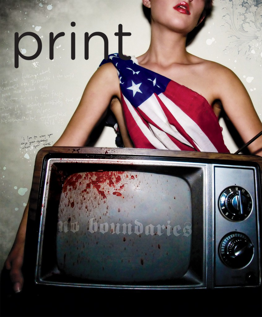 AIGA Award Winner Print Magazine Cover Design