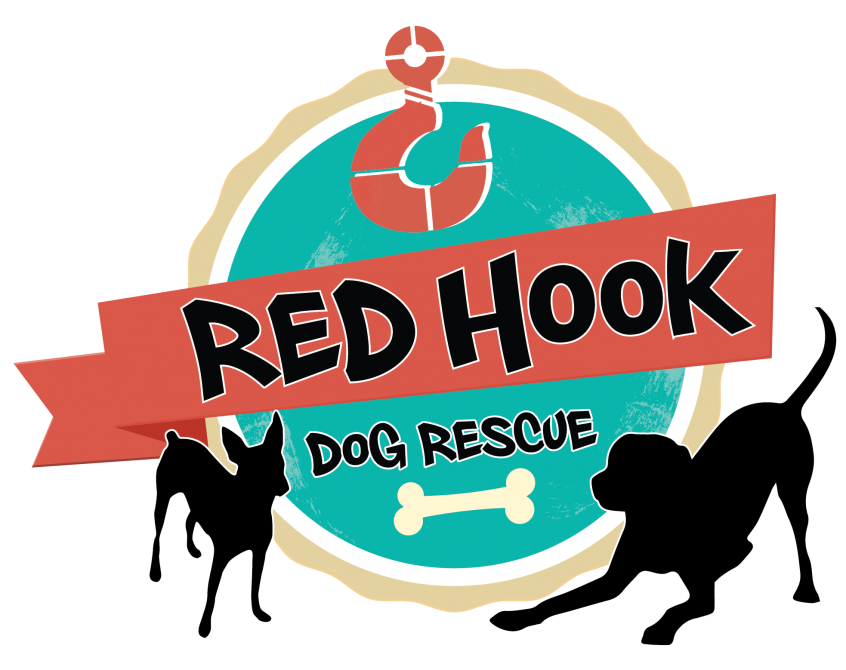 Red Hook Dog Rescue Logo Design