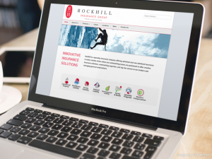 Rockhill Insurance Group Website Design and Development