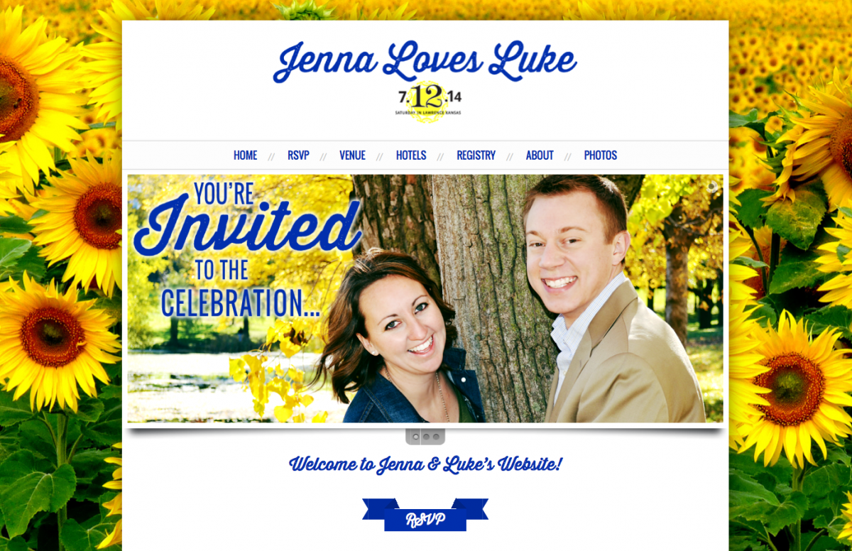 Wedding Website Design & Development